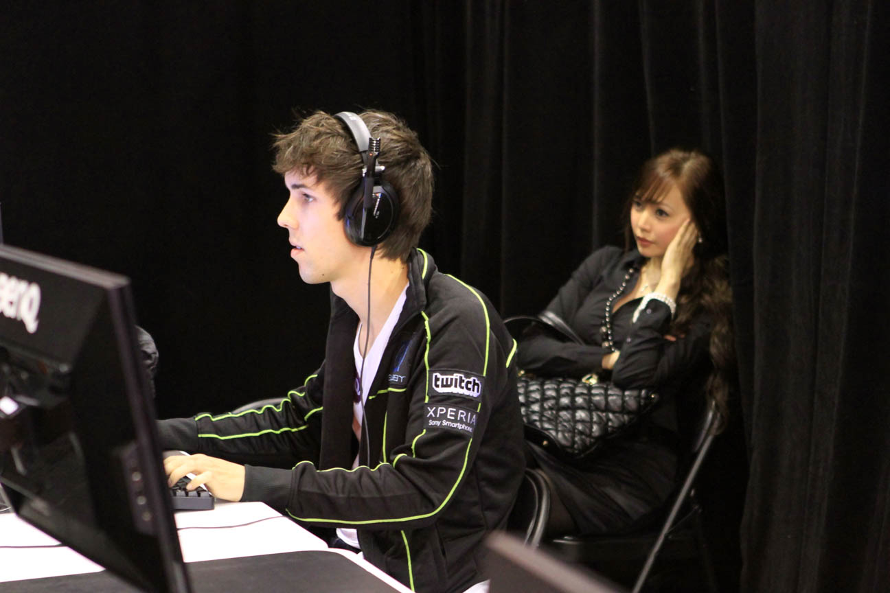 Grubby and Cassandra at IEM Singapore