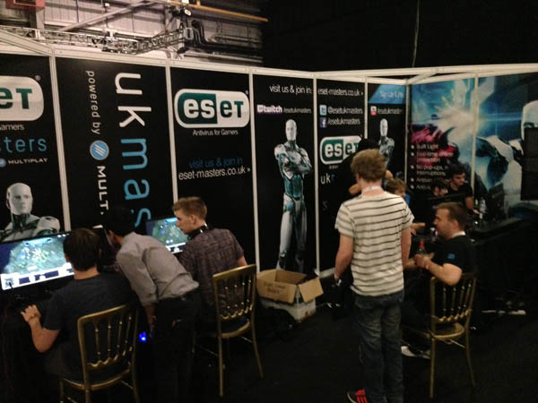 The ESET Stand at i49