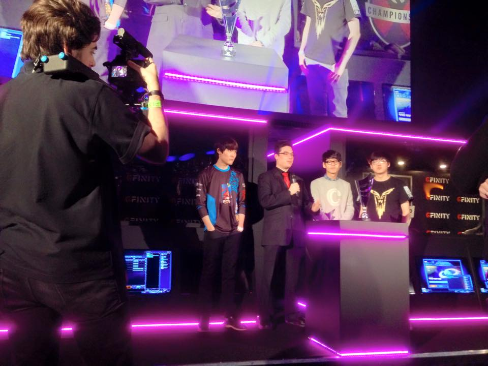 JoRoSaR Interviewing PartinG & hydra at Gfinity StarCraft Masters