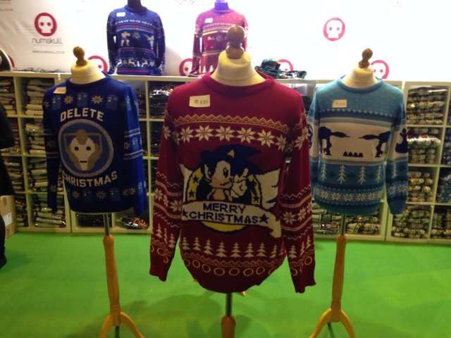 Christmas jumpers at Insomnia 56