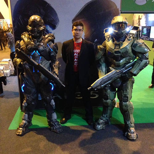 JoRoSaR and Halo 5 at Insomnia 56