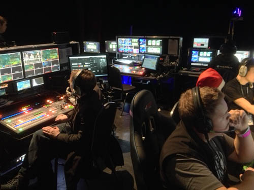 Production team for eSports at Insomnia i56
