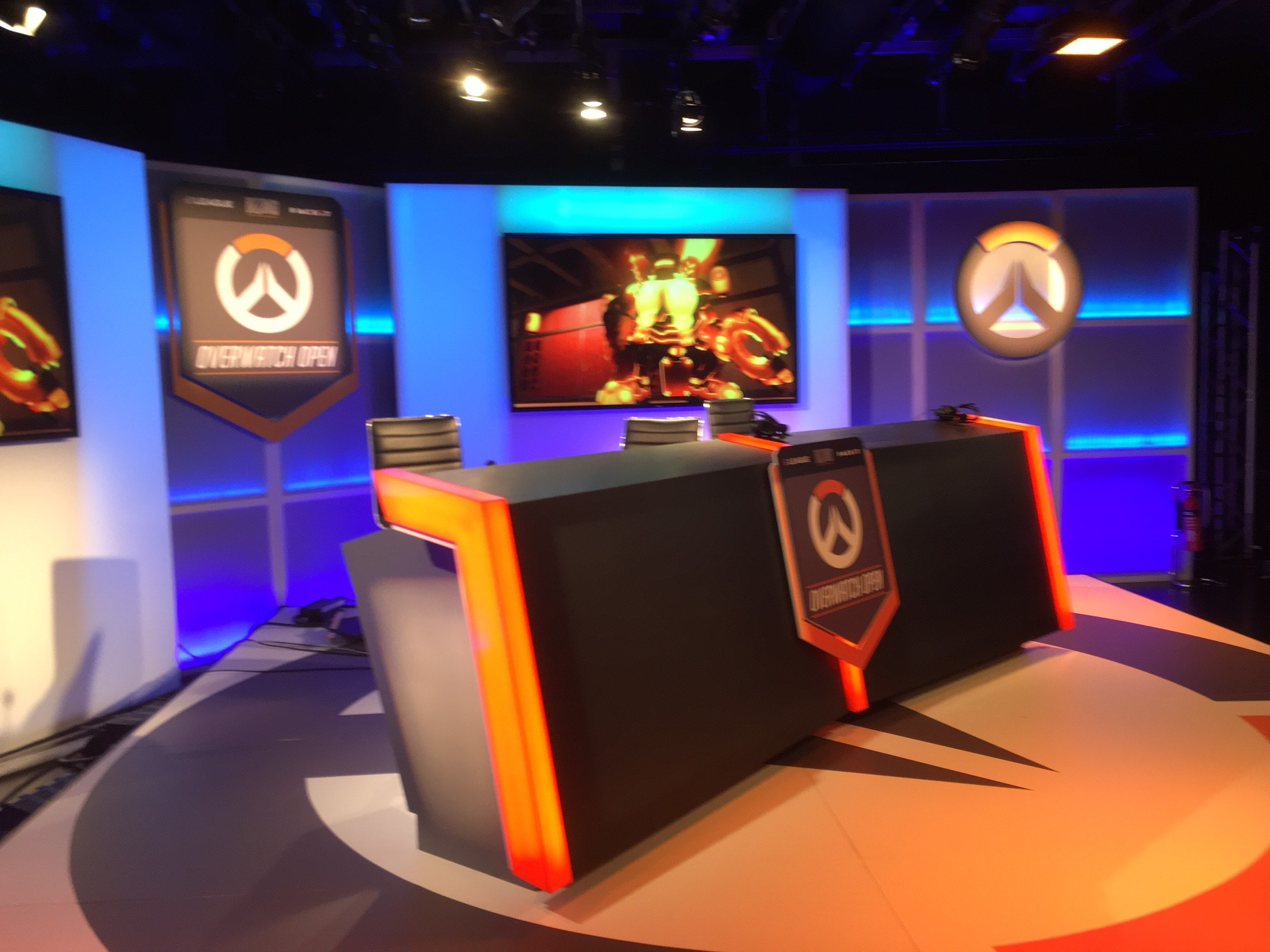 JoRoSaR Casting on the FACEIT / ELeague Overwatch Open Set