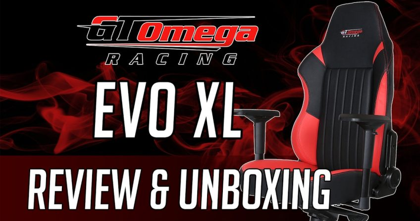 GT Omega Racing Evo XL Unboxing & Review by JoRoSaR