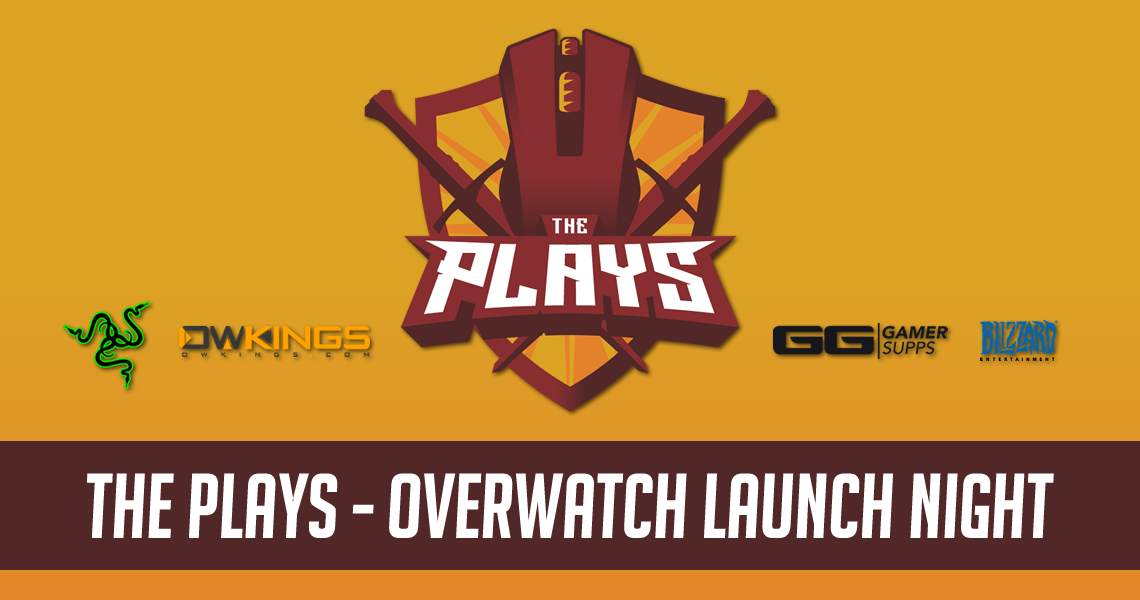 Overwatch ThePlays.GG Launch Event Banner